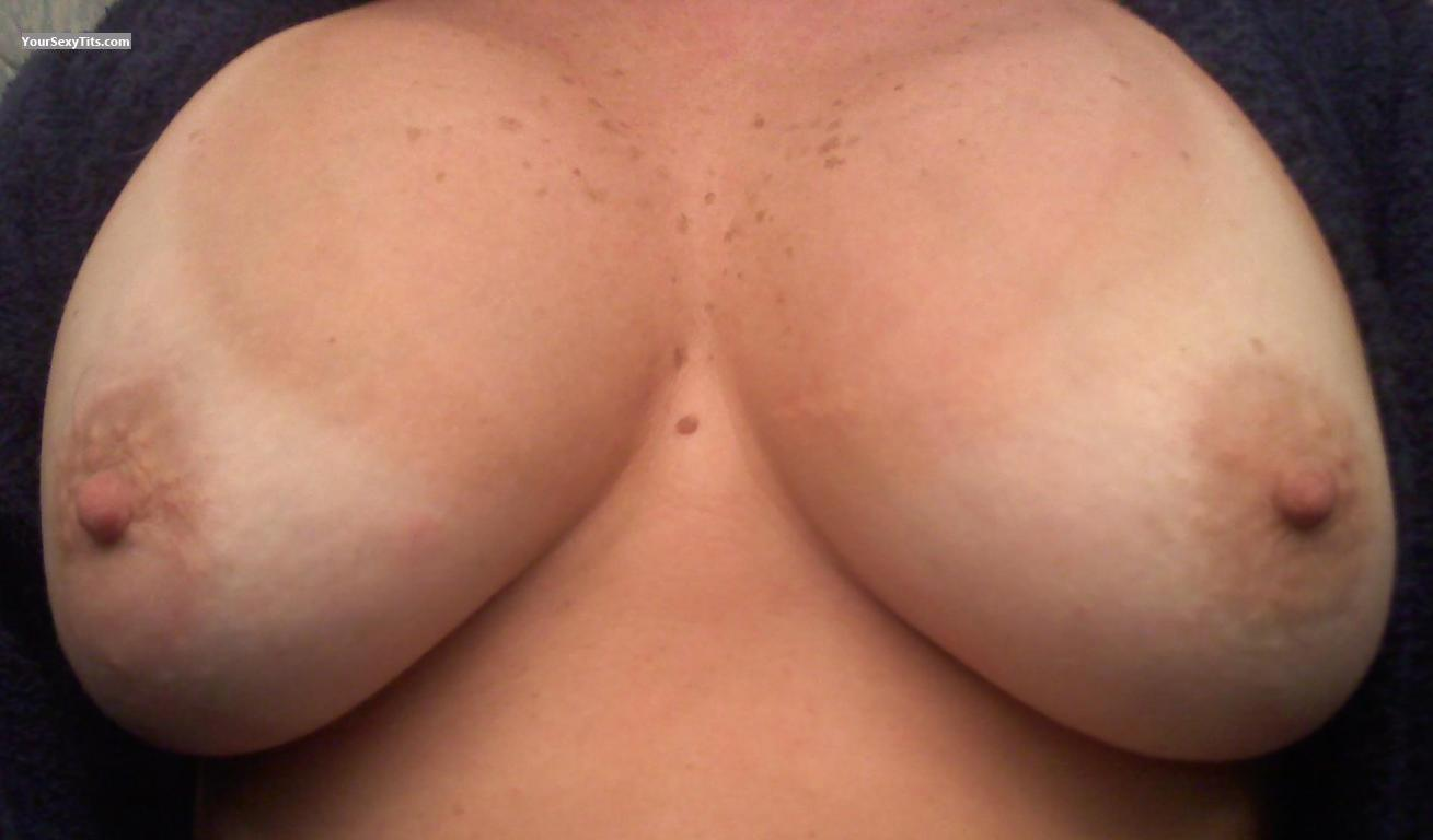 Tit Flash: My Big Tits (Selfie) - RIGirl from United States