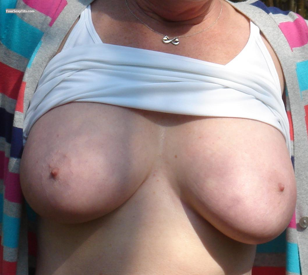 Tit Flash: Big Tits - Melons from United Kingdom