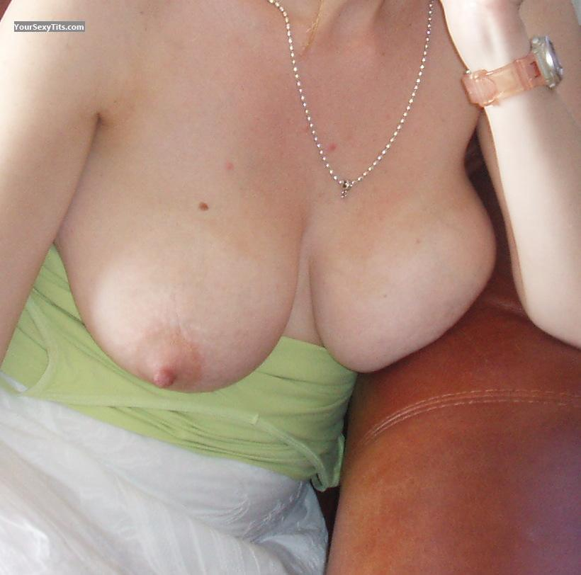 Tit Flash: Big Tits - Katie from United States