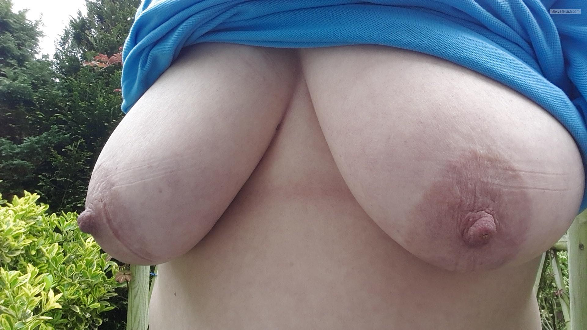 My Big Tits Selfie by Hellsbells999