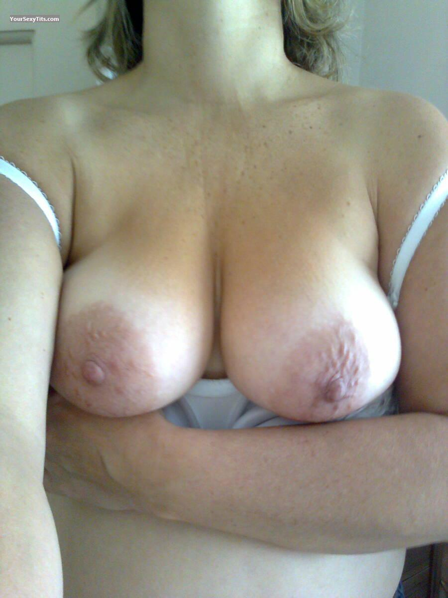 Tit Flash: My Big Tits (Selfie) - Blondie from United Kingdom
