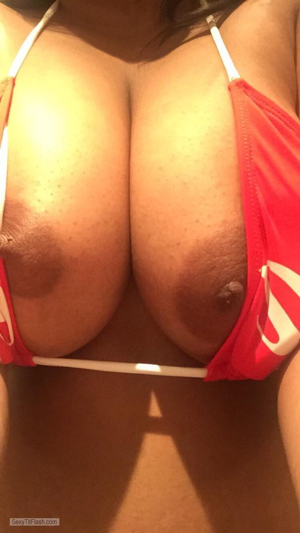 Tit Flash: My Big Tits - Rosh from India