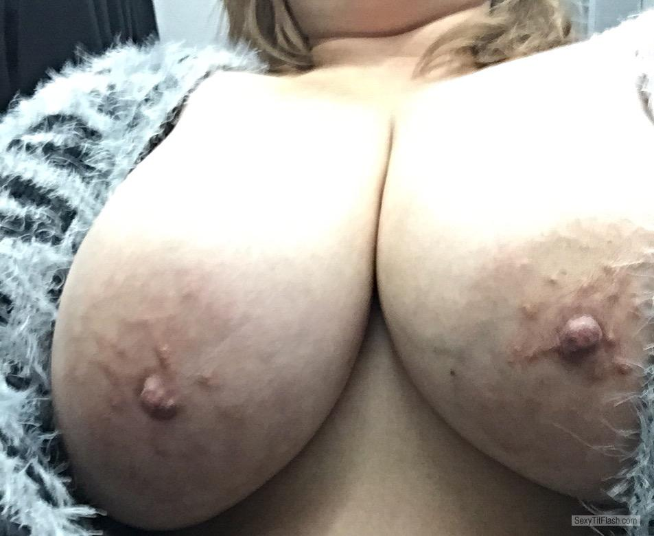 My Big Tits Selfie by Mytitsforyourcock