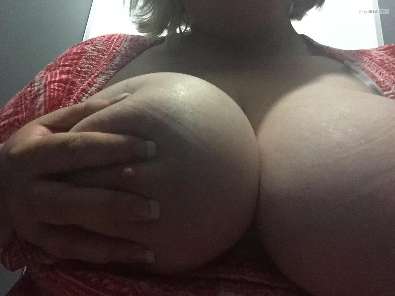 Tit Flash: My Big Tits - Juicy Titties For You from Australia