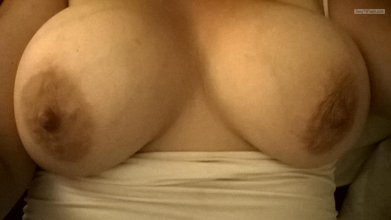 My Big Tits Selfie by First Time ;)