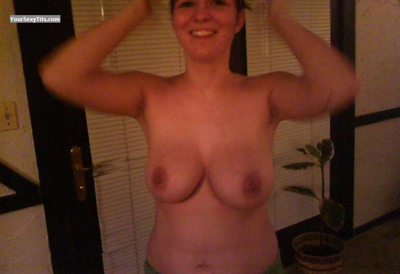 Tit Flash: Big Tits - Martina from United States