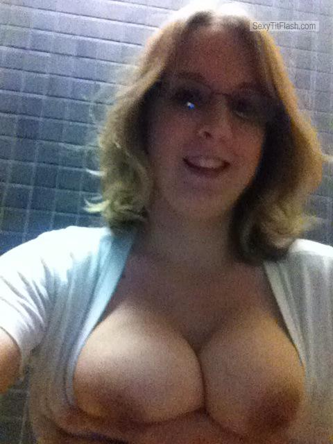 My Big Tits Topless Selfie by Just Tits