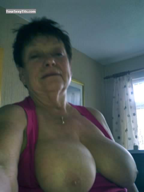 My Big Tits Topless Selfie by Sexy M