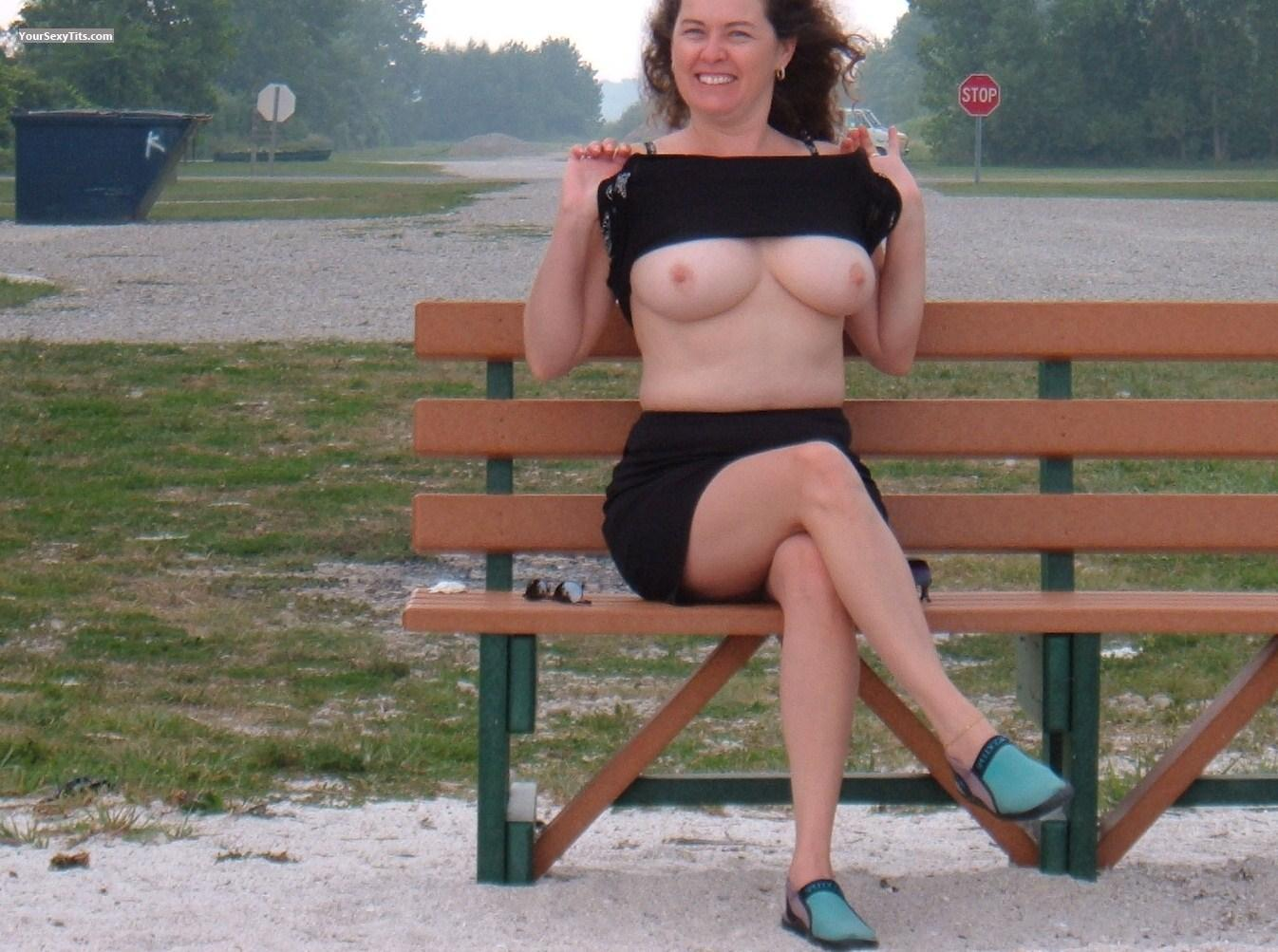 Big Tits Topless KIt Kat