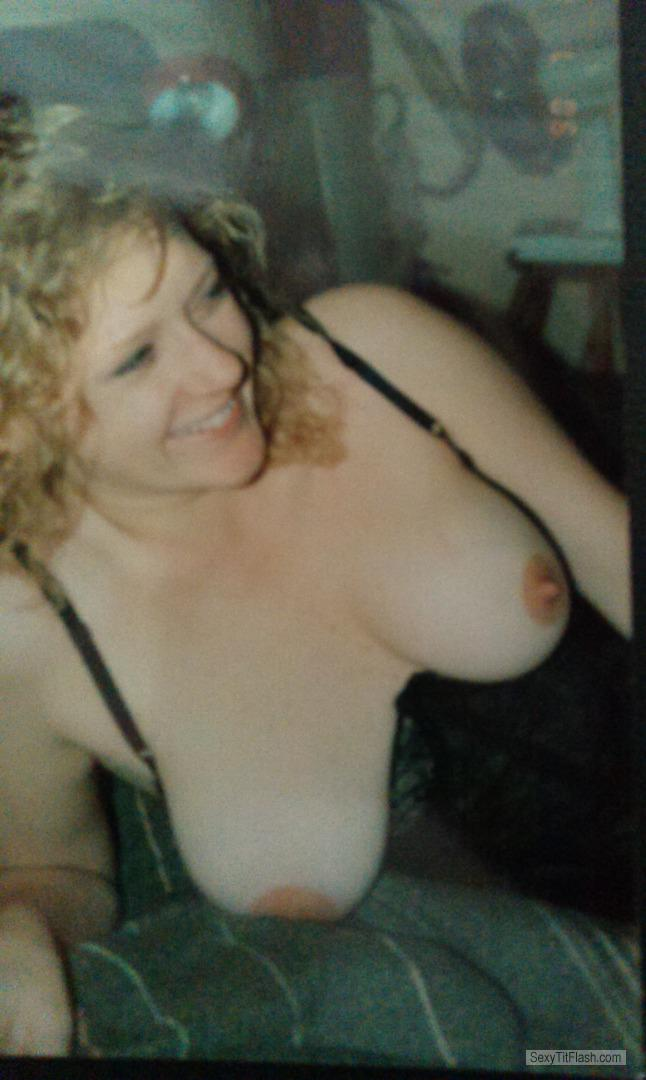 Tit Flash: My Big Tits - Topless TRACEY from Australia