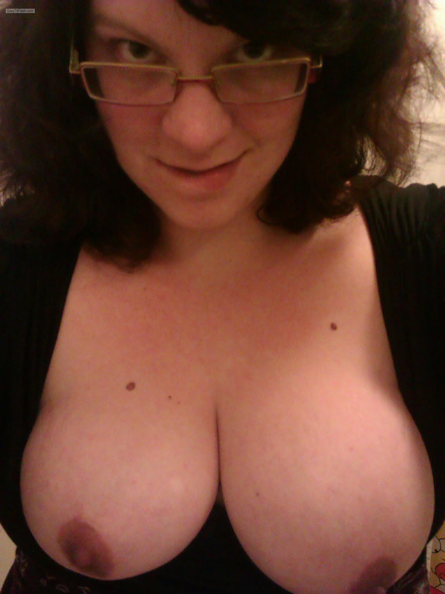 My Big Tits Topless Selfie by Assie