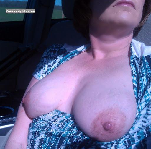 Tit Flash: My Big Tits (Selfie) - BusyBee from United States