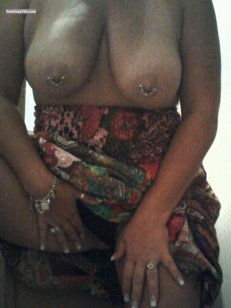 Tit Flash: Big Tits - Missy from United StatesPierced Nipples