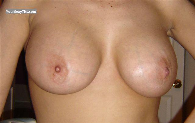 Tit Flash: Ex-Wife's Big Tits - Hot Ex-wife from United States