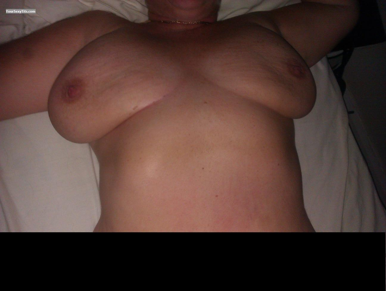 My Big Tits Nude In Bed