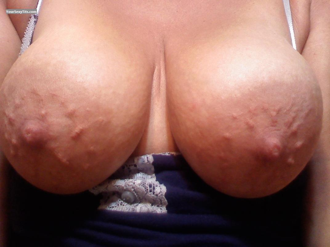 Tit Flash: My Big Tits (Selfie) - Areolagirl from United States
