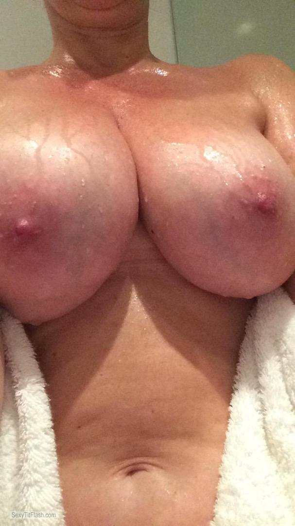 Tit Flash: My Big Tits (Selfie) - Jenny from United Kingdom