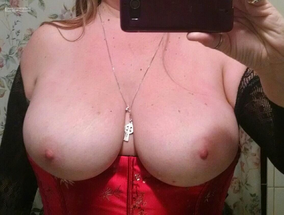 Big Tits Of My Girlfriend Selfie by Hot Sub