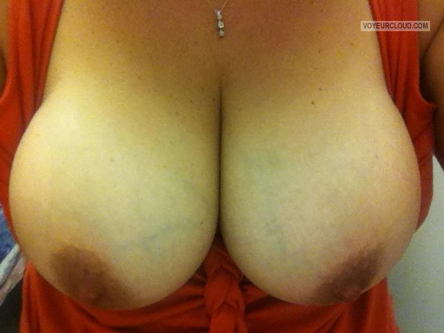 Very big Tits Of My Wife Selfie by Molly