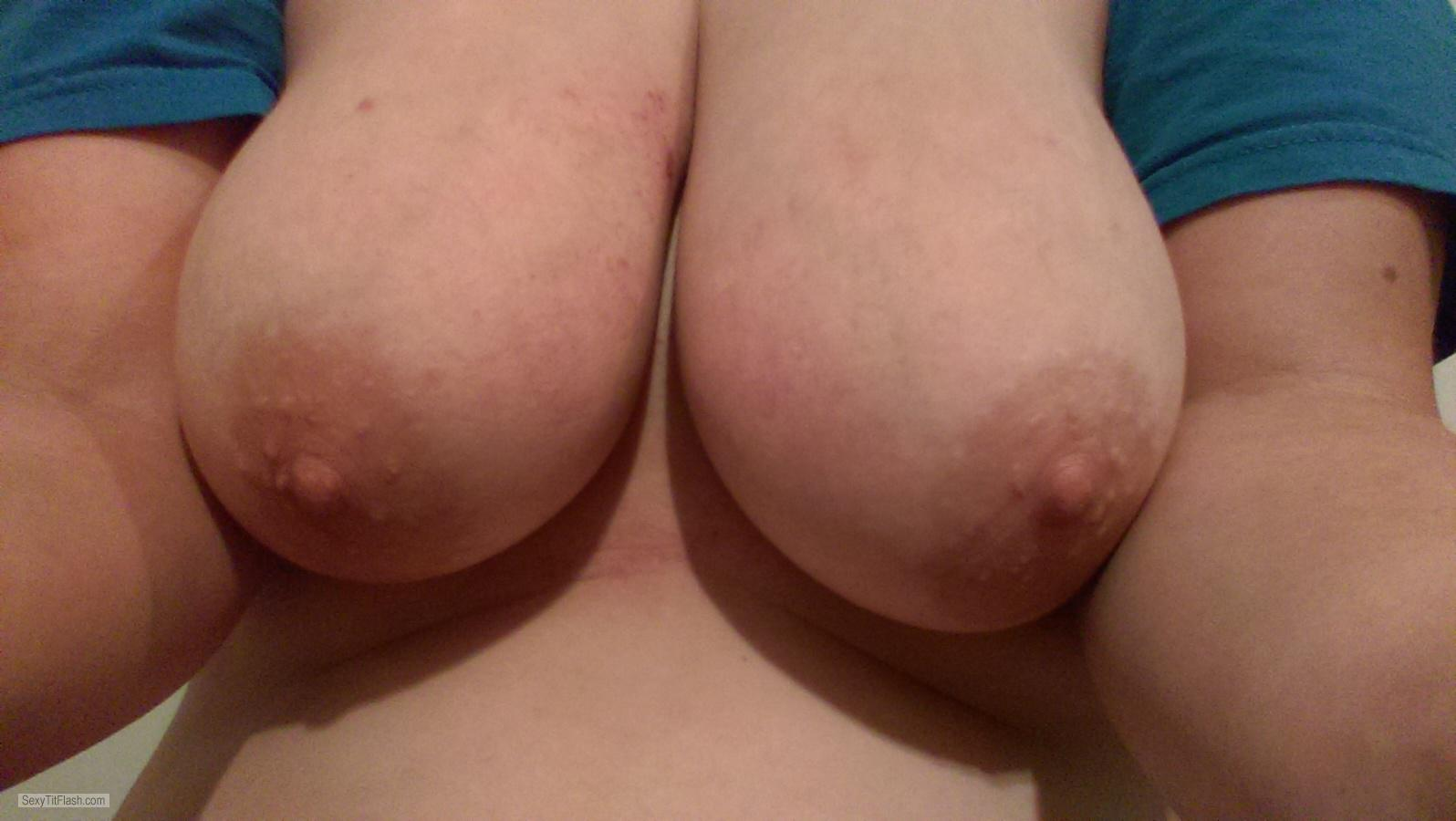 My Big Tits Topless Selfie by D-cakes