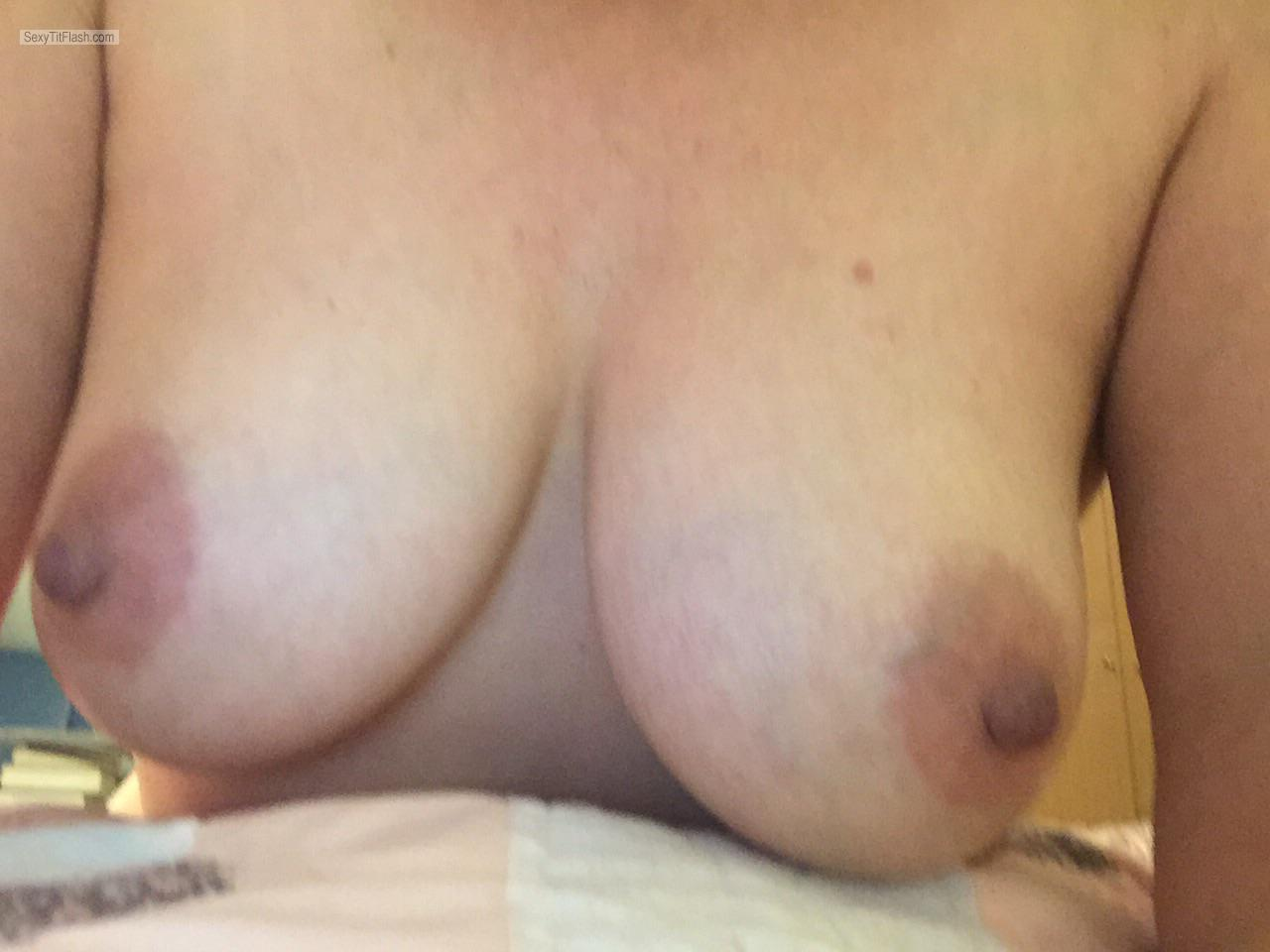 Tit Flash: My Big Tits (Selfie) - Reelnice from United Kingdom