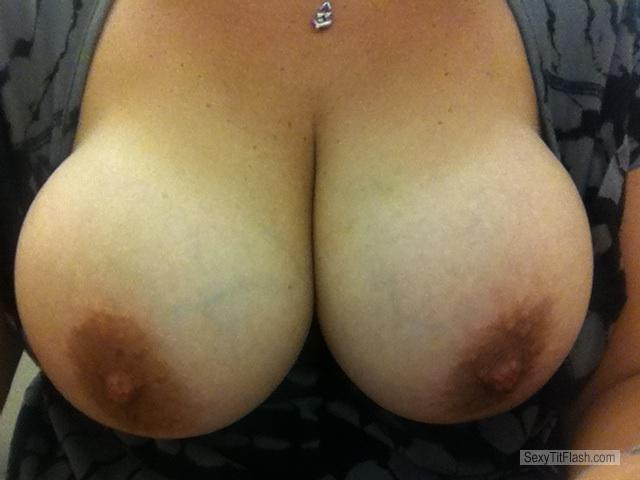 Big Tits Of My Wife Selfie by Molly