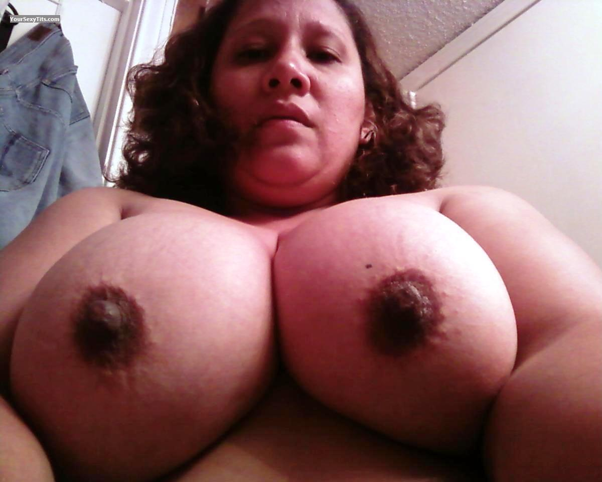 My Big Tits Topless Selfie by Lina