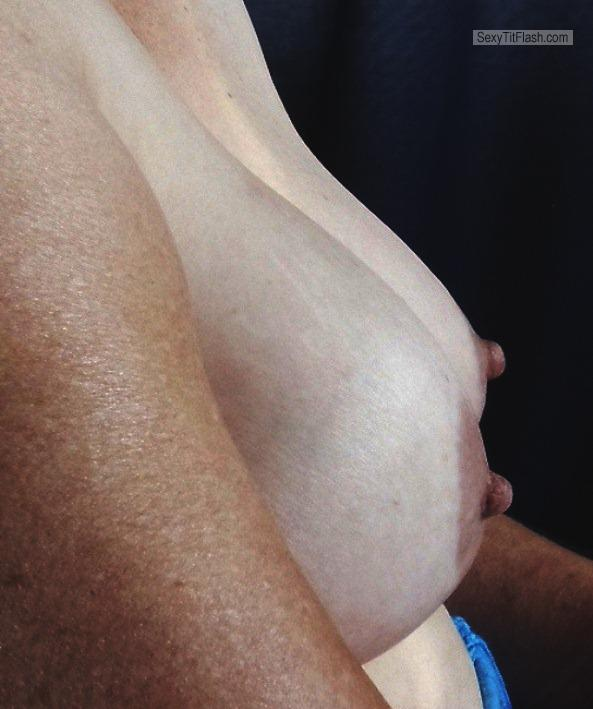 Tit Flash: My Big Tits - Pearl from South Africa