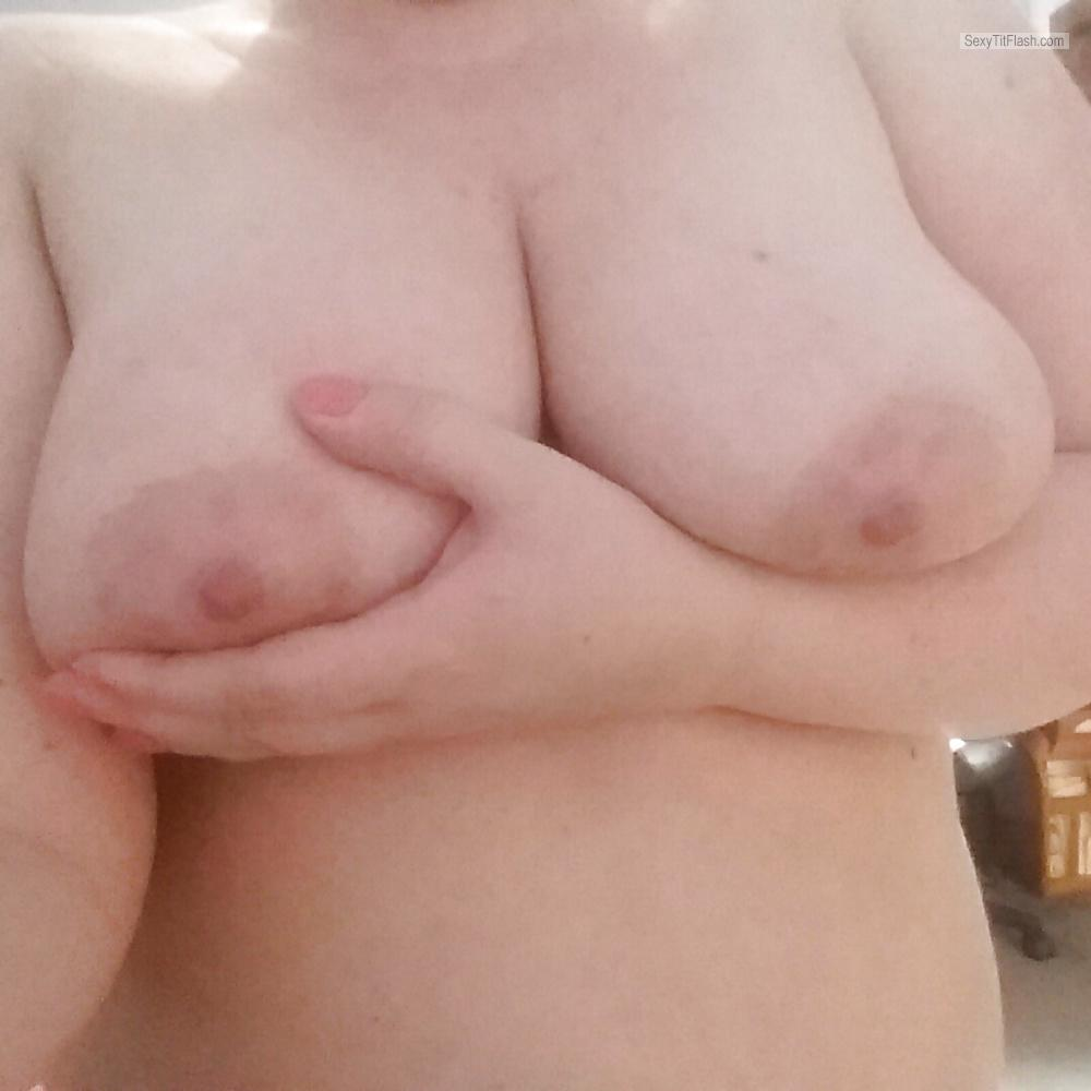 My Big Tits Topless Selfie by My Fat Tits