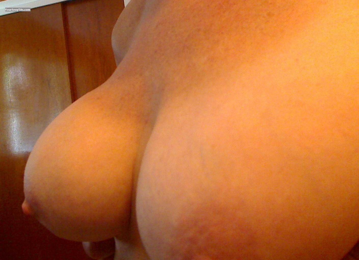 Tit Flash: Big Tits - Nanc01 from United States