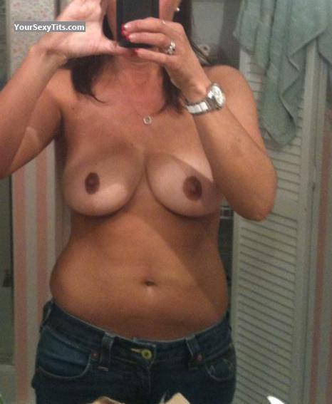 Tit Flash: My Big Tits (Selfie) - Holly4 from United States