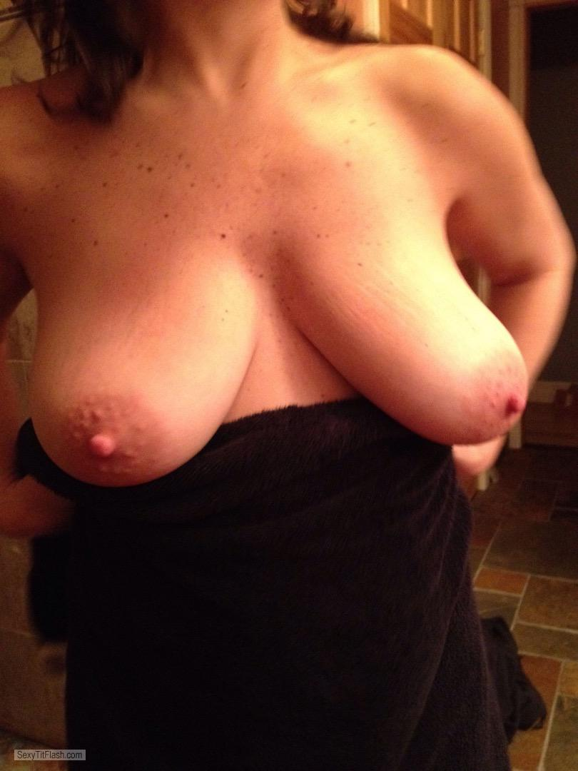 Tit Flash: My Big Tits - Lisa from United States