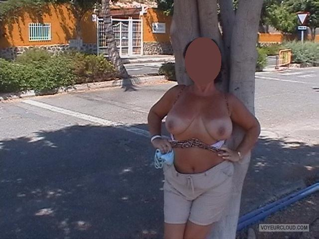 Tit Flash: My Big Tits - C from United Kingdom