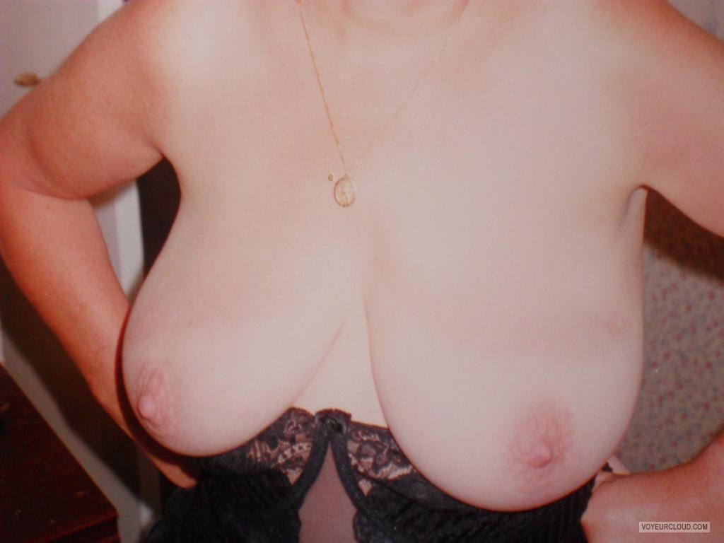 Tit Flash: My Big Tits - Paula from United Kingdom