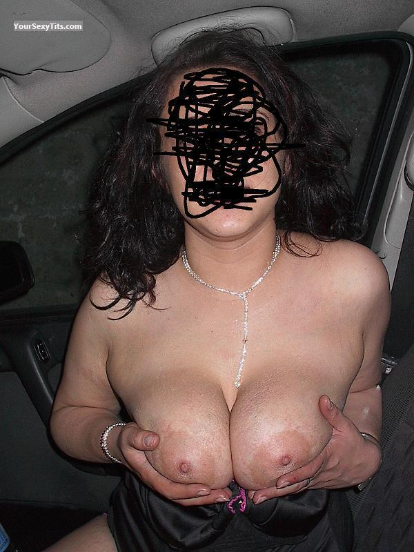 Tit Flash: Big Tits - Roller77 from Italy