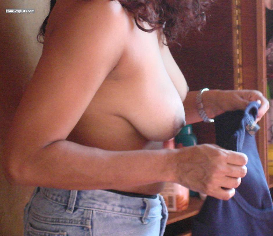 Tit Flash: Big Tits - Luana from Brazil
