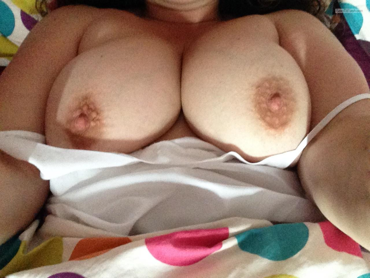 Big Tits Of My Wife Selfie by Wife's Tits