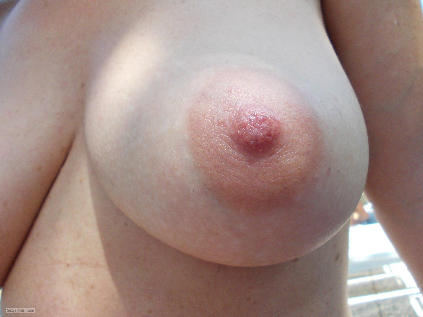 My Big Tits Topless Lucy