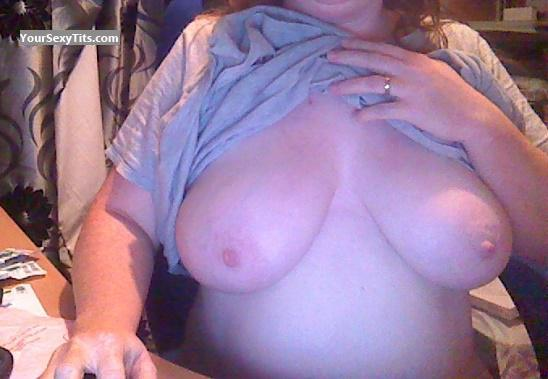 Tit Flash: Wife's Big Tits - Busty from United Kingdom