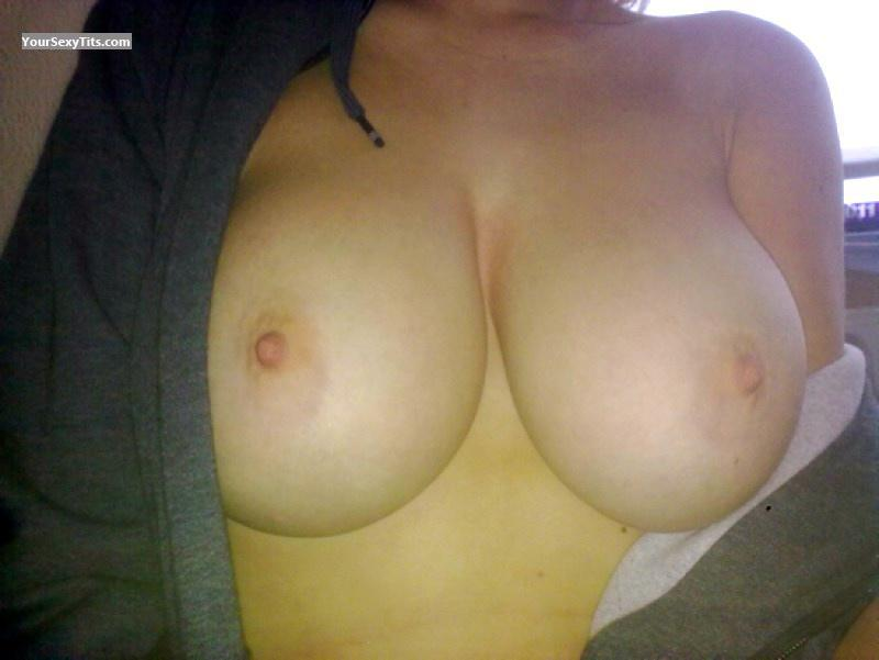 Tit Flash: My Big Tits - Jessica from United States