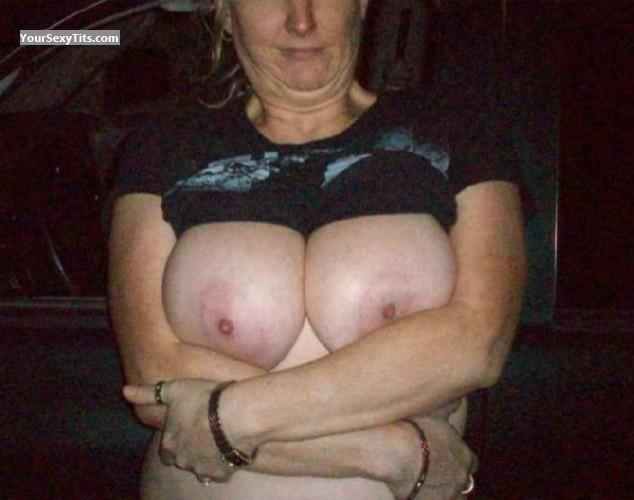 Tit Flash: Big Tits - Charlotte from United States
