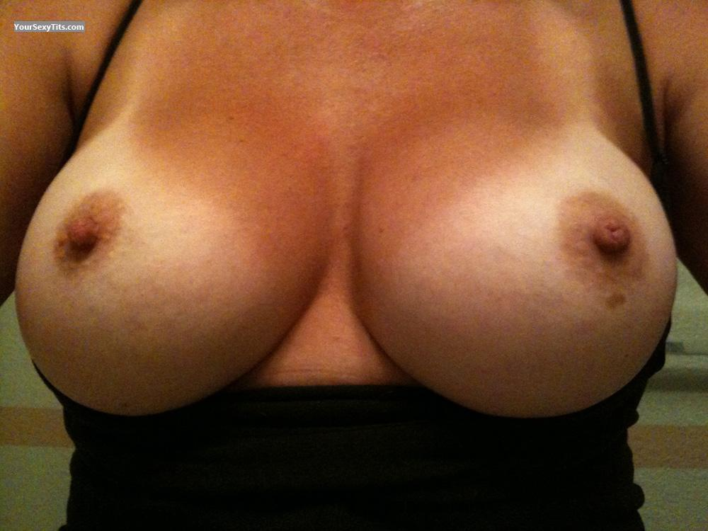 Tit Flash: My Big Tits (Selfie) - Dee from United States