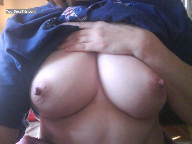 Big Tits Of My Girlfriend Selfie by Jeff's Girl