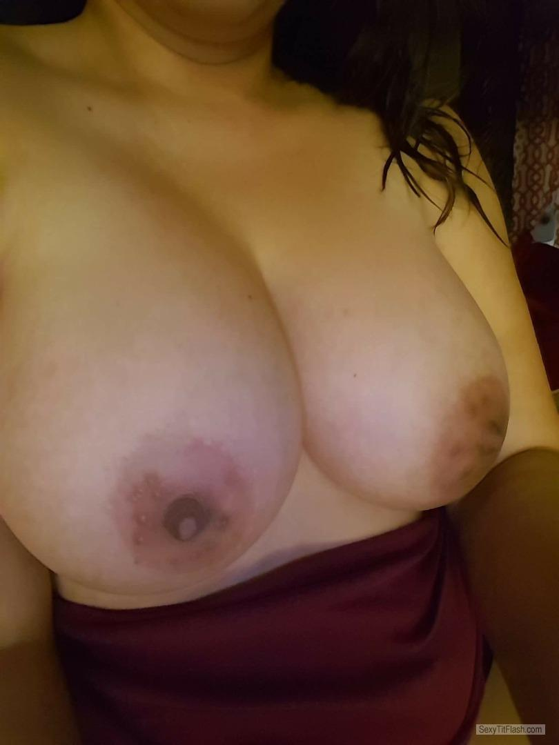 Big Tits Of My Wife Selfie by C