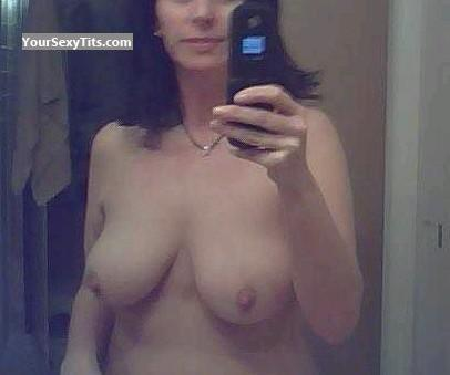 Big Tits Of My Wife Selfie by Sos