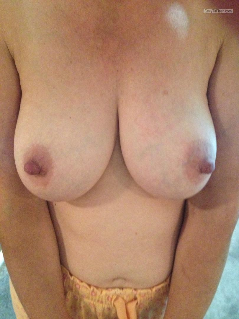 Tit Flash: My Big Tits - Reelnice from United Kingdom