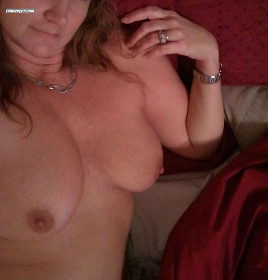 Big Tits Of My Wife Selfie by Toni