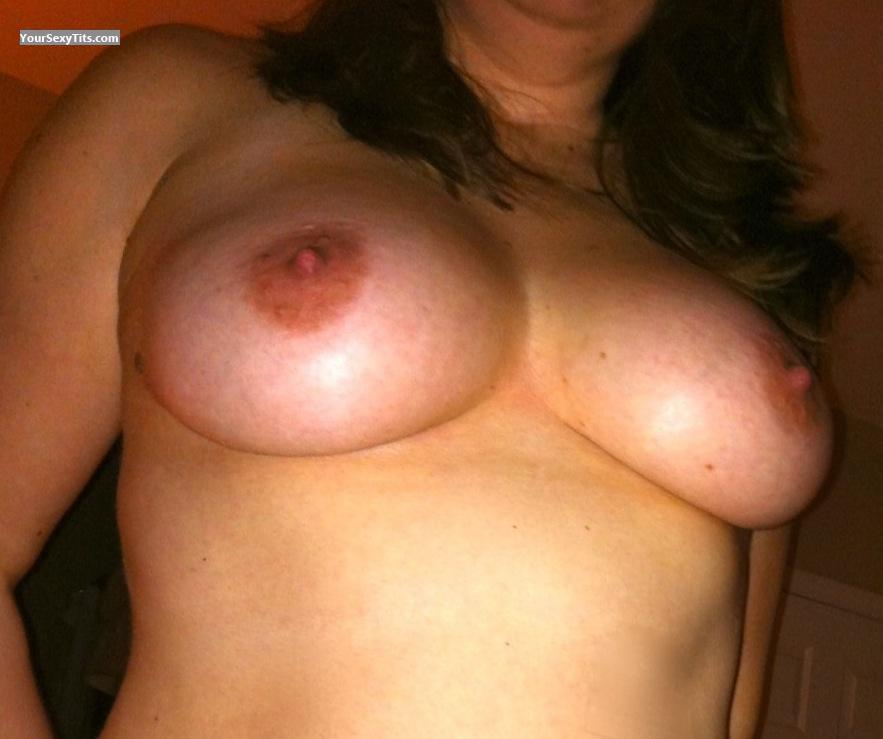 Tit Flash: Big Tits - Kandl from United States
