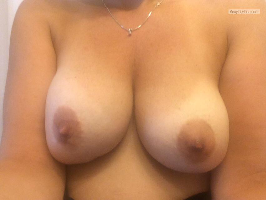 Big Tits Of My Wife Selfie by HotWifePDX