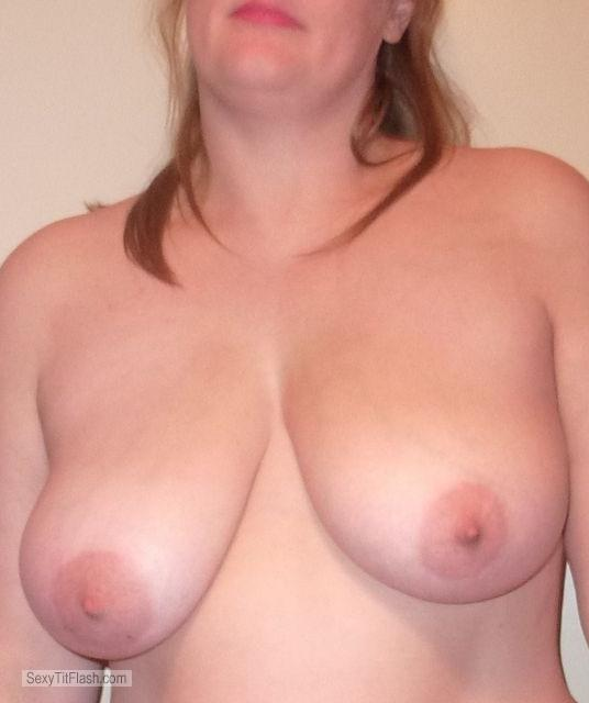 Tit Flash: My Big Tits - B P from United Kingdom